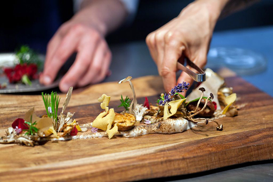 Recipe: Walk in the Forest. Chef Dominique Crenn. Photo: Atelier Crenn
