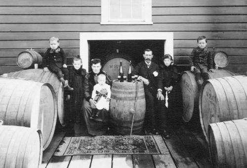 Wente family circa 1895.  Photo: Wente