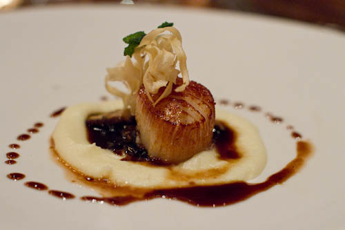 Pan Seared Day Boat Scallop