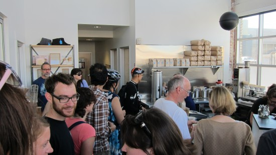 blue bottle interior