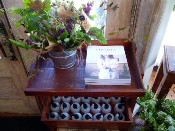 Kinfolk Magazine and flowers