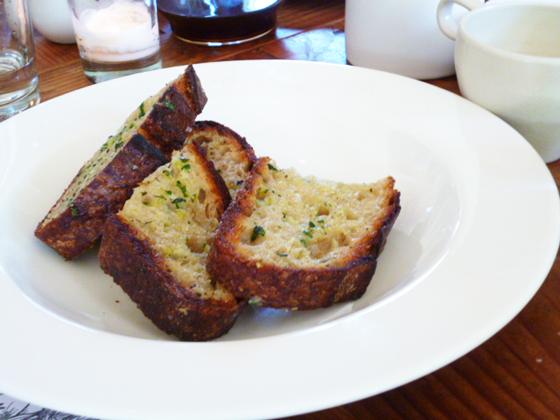 Green Garlic Bread by Samin Nosrat