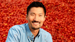 Yul Kwon - America Revealed- Food Machine. Photo courtesy of PBS