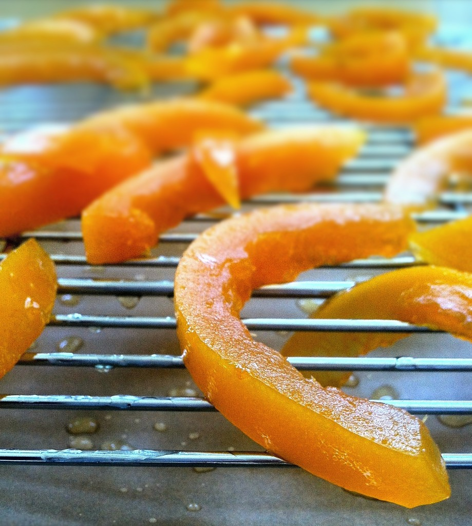 Drying Grapefruit Peels