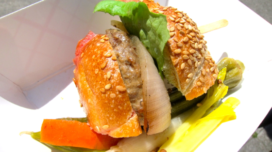 Actual Cafe's Sal Bednarz Kickstarts a New Venture: Victory Burger
