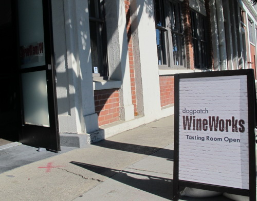 Dogpatch WineWorks open for tasting