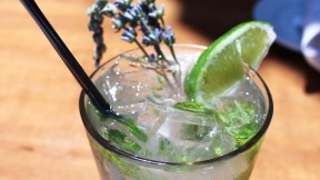 The girl & the fig's Lavender Mojito