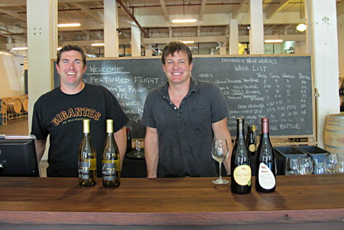 Dogpatch WineWorks founders Dave Gifford and Kevin Doucet