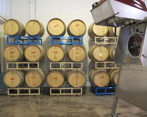 WineWorks client wine barrels