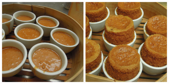 burnt sugar teacup cakes