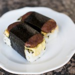 Breakfast Spam Musubi