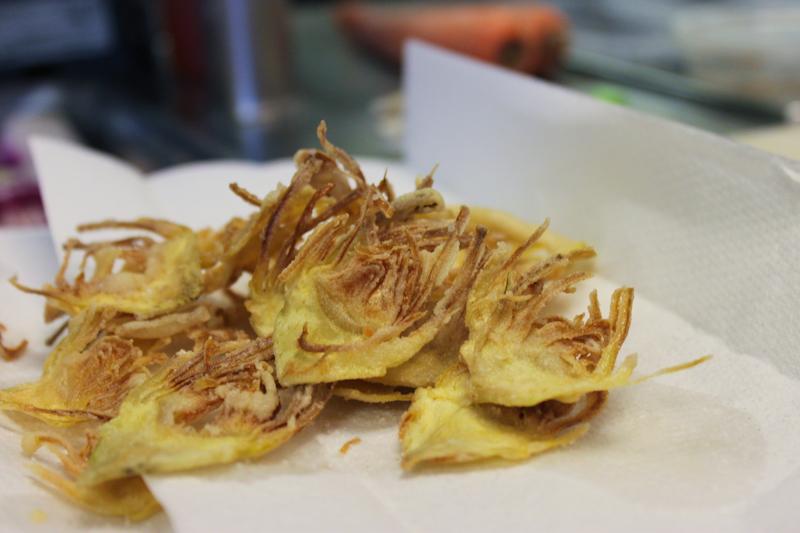 Crispy Artichoke Chips