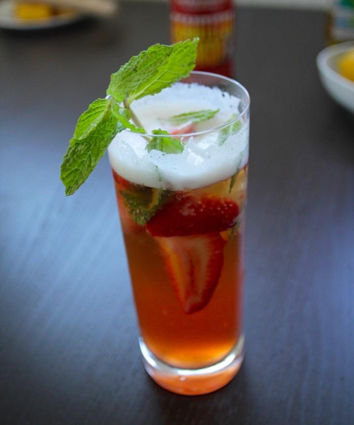 Strawberry Blonde Brewjito