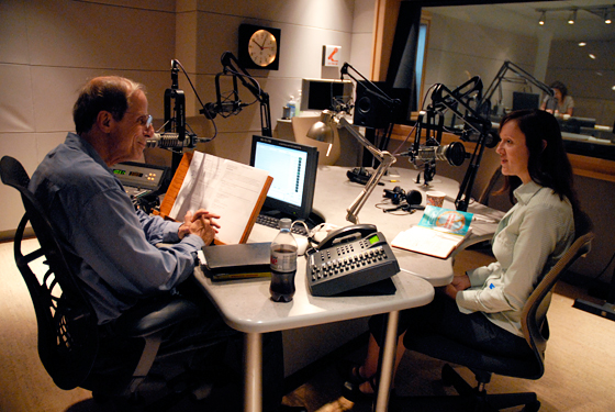 Michael Krasny and Stephanie Lucianovic on Forum at KQED