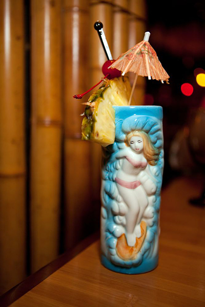 Tropical cocktails at the Tonga Room and Hurricane Bar. Photo: Marla Aufmuth