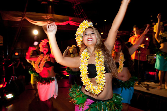 Hula Dancers and live music at the Tonga Room and Hurricane Bar. Photo: Marla Aufmuth