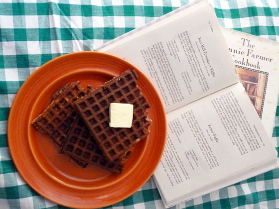 Waffles for Marion Cunningham