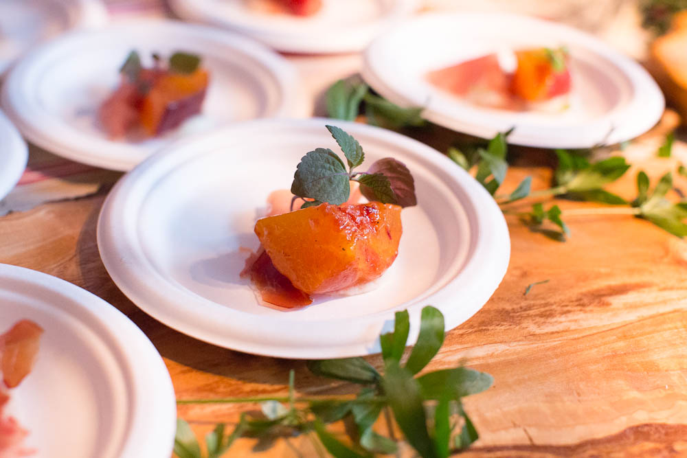 SF Chefs: Peaches and Burrata from AQ