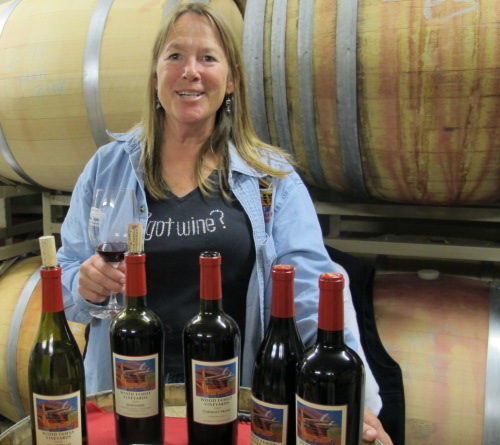 Rhonda Wood, Winemaker at Wood Family Vineyards