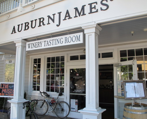 Auburn James tasting room in Danville