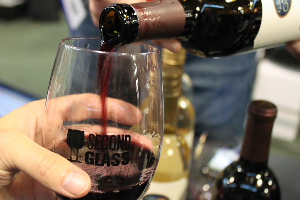 Wine tasting at Wine Riot