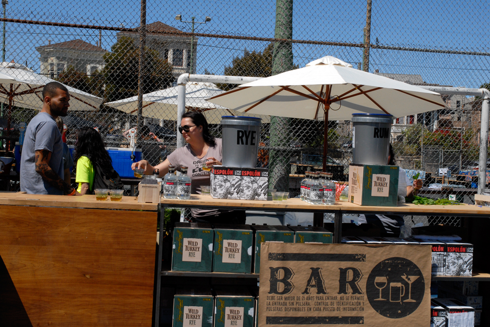 Bar at SF Street Food Fest. Photo: Wendy Goodfriend