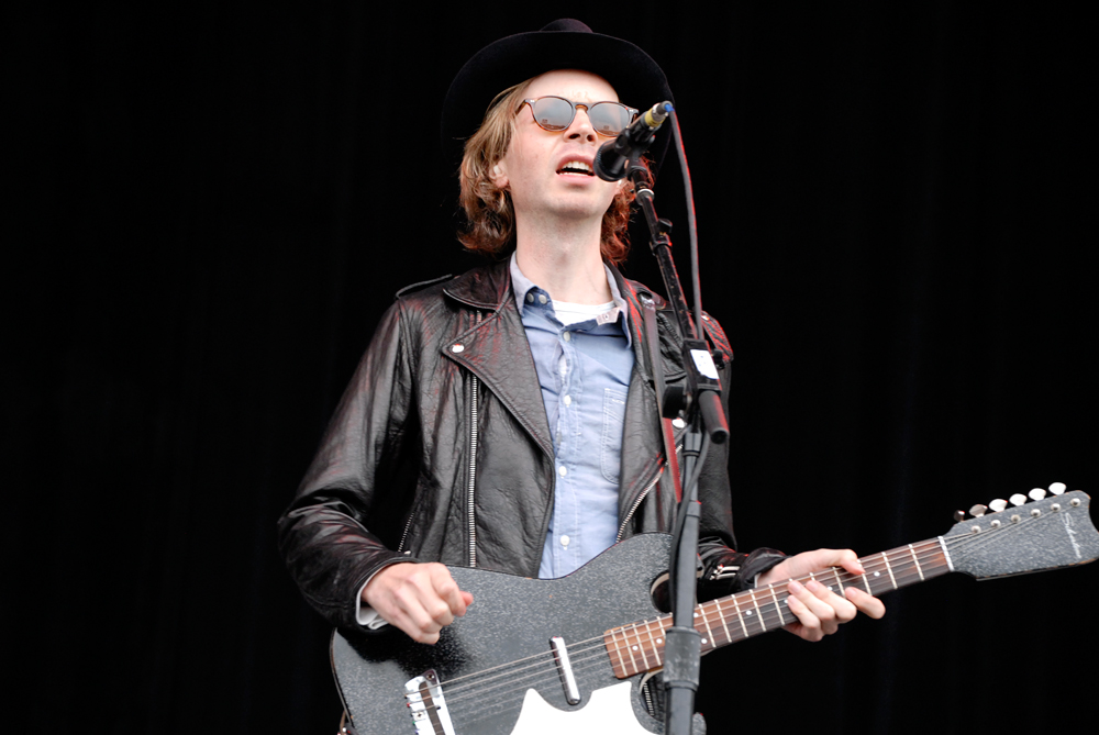 Beck at Outside Lands 2012. Photo: Wendy Goodfriend.