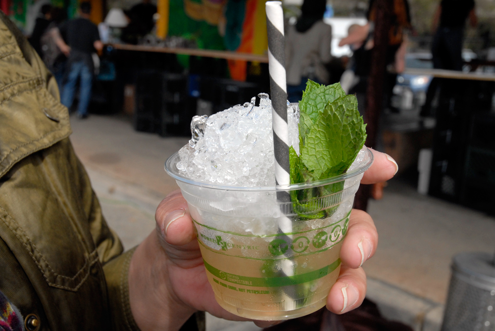 Icy Mint Julep cocktail. Photo: Wendy Goodfriend