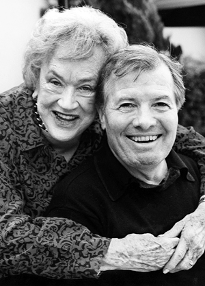 Julia Child and Jacques Pepin. Photo courtesy of Jacques Pepin