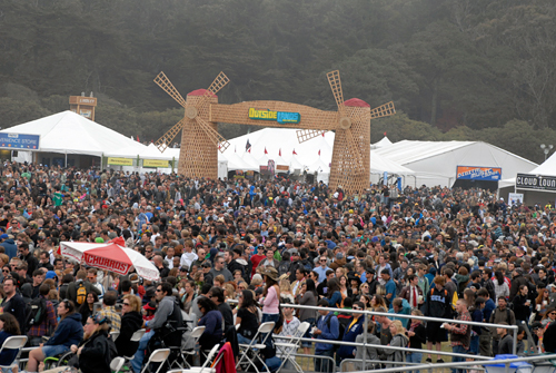 Day One at the 2012 Outside Lands