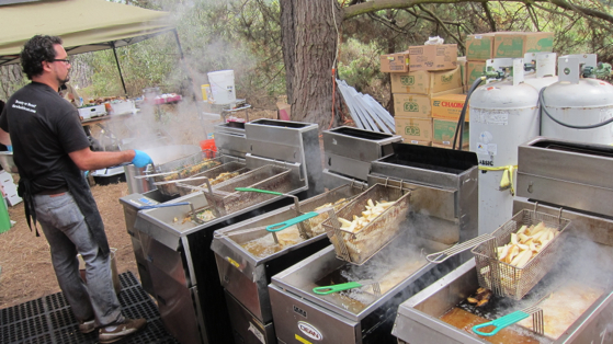fryer station