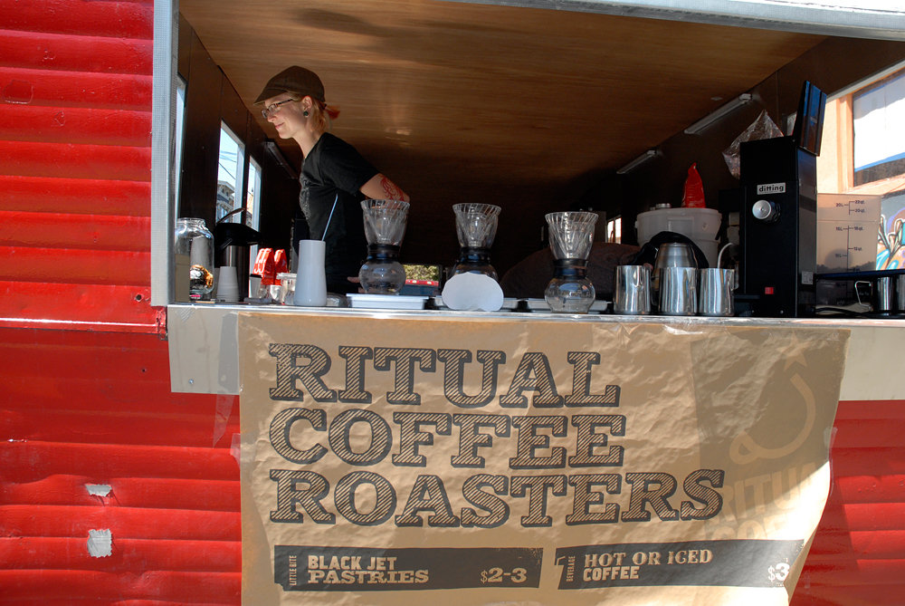 Ritual Coffee Roasters. SF Street Food Fest 2012 Photo: Wendy Goodfriend