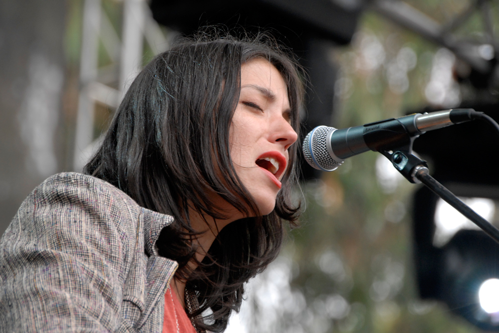 Sharon Van Etten at Outside Lands 2012. Photo: Wendy Goodfriend