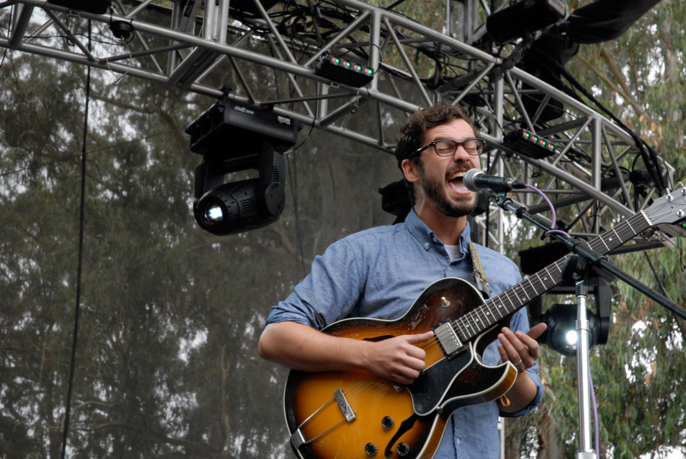 White Denim at Outside Lands 2012. Photo: Wendy Goodfriend