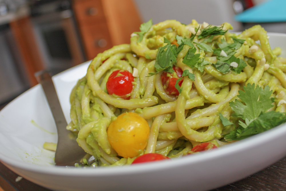 Creamy Avocado Pesto Recipe