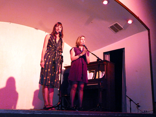 Beth Lisick and Arline Klatte at Porchlight