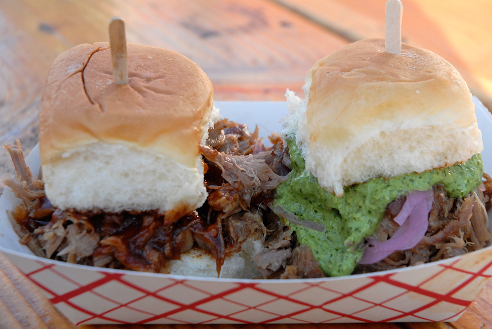 Slider Shack Pork Sliders. Photo: Wendy Goodfriend