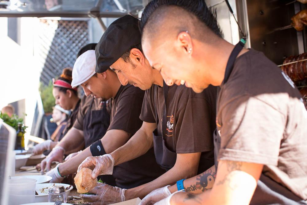 The Roli Roti crew