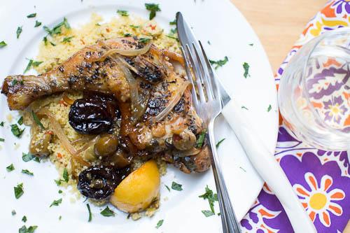Cast Iron Skillet Cooking: Chicken Marbella recipe
