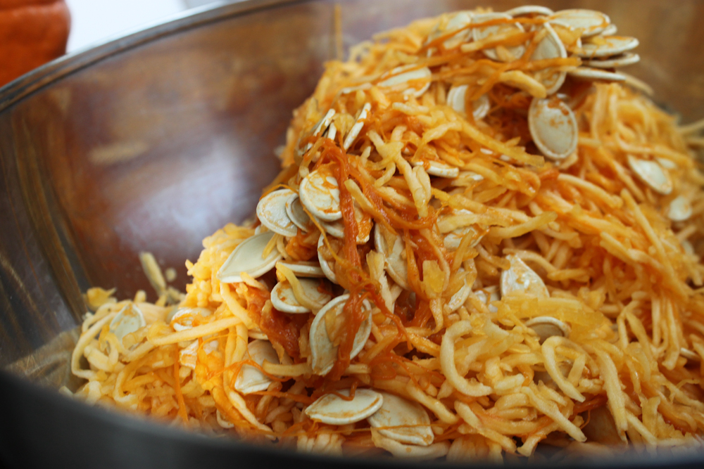Roasted Pumpkin Seeds Three Ways