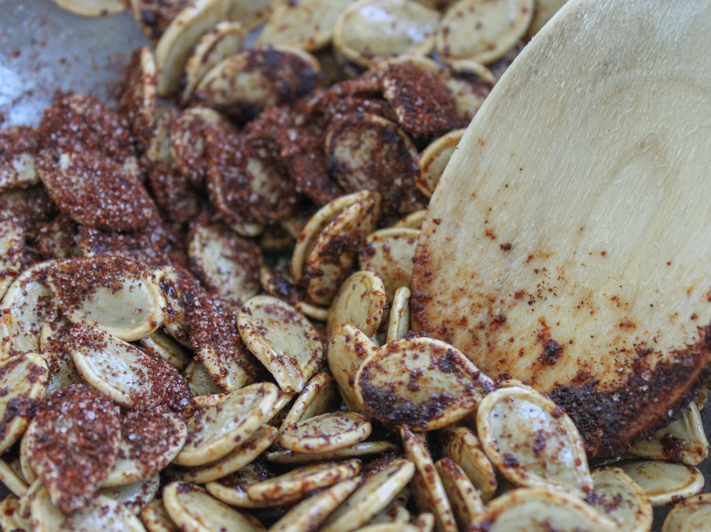 Chili and Sea Salt pumpkin seeds