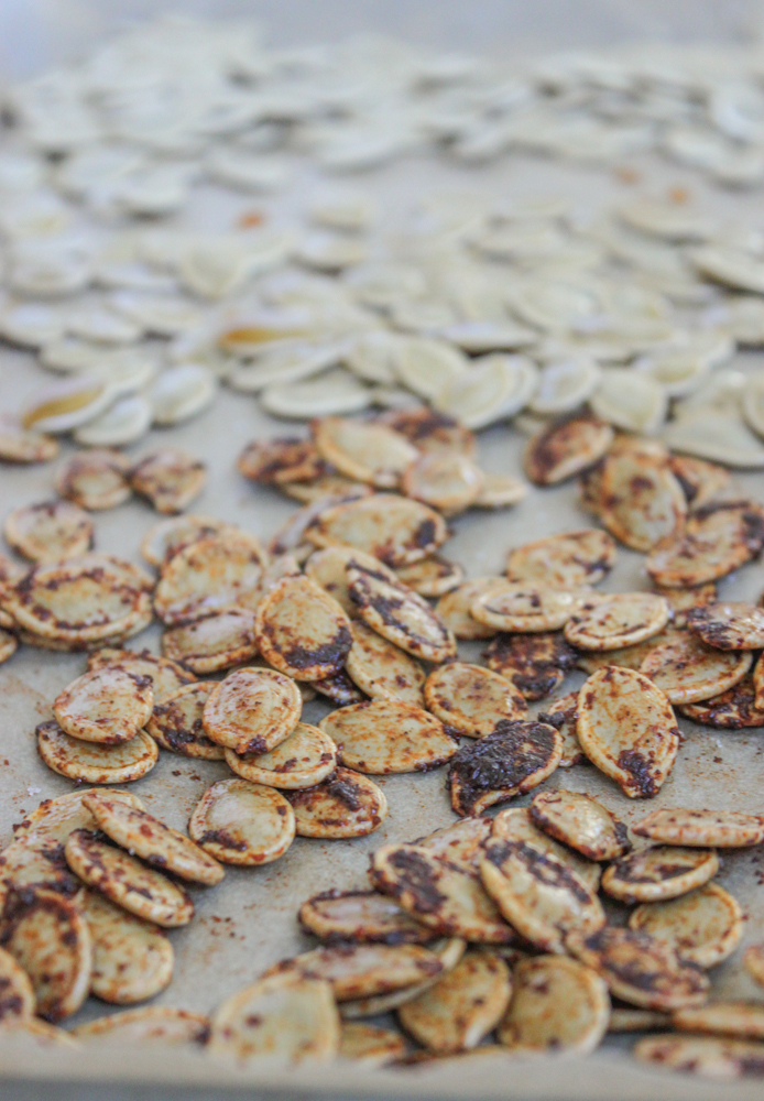 Coffee and Chili pumpkin seeds, Maple and Sea Salt, and Salted