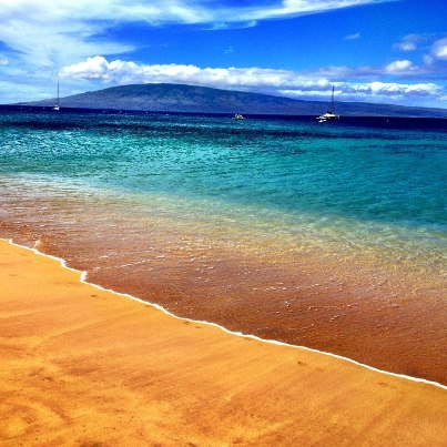Maui beach scene. Photo: Sean Timberlake