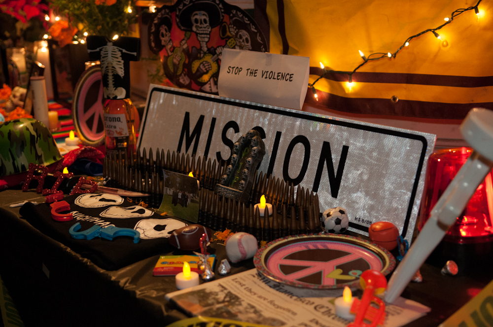 Day of the Dead: Mission Stop the Violence. Photo: Naomi Fiss