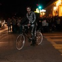Day of the Dead biker in the streets of the Mission. Photo: Naomi Fiss