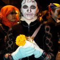 Honoring John at  Dia de los Muertos in SF Mission. Photo: Naomi Fiss