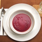 Beet and Ginger Soup