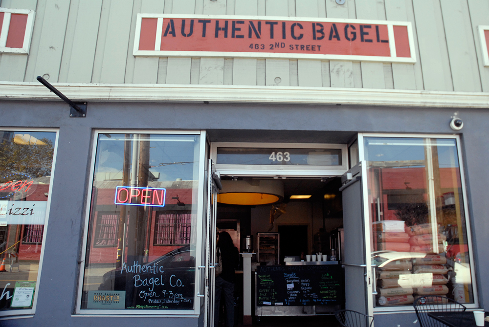 Authentic Bagel exterior