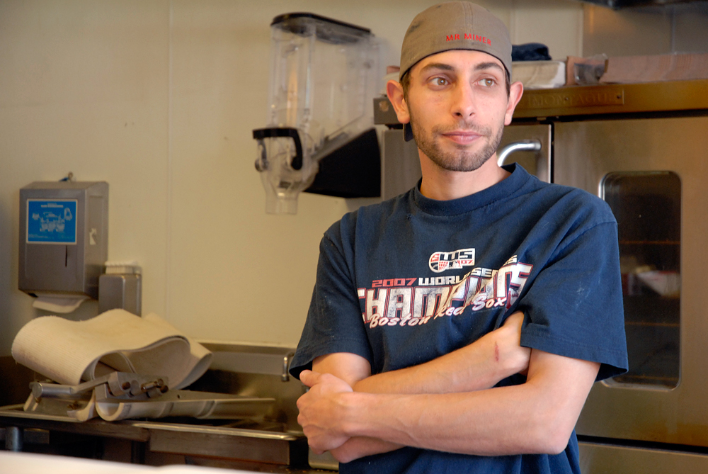 Jason Scott co-owner of Authentic Bagel