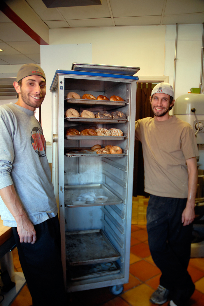 Authentic Bagel owners - Jason and Mark Scott